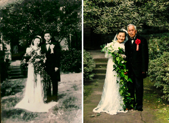 True Love Couples Recreating Their Old Photos Great Inspire